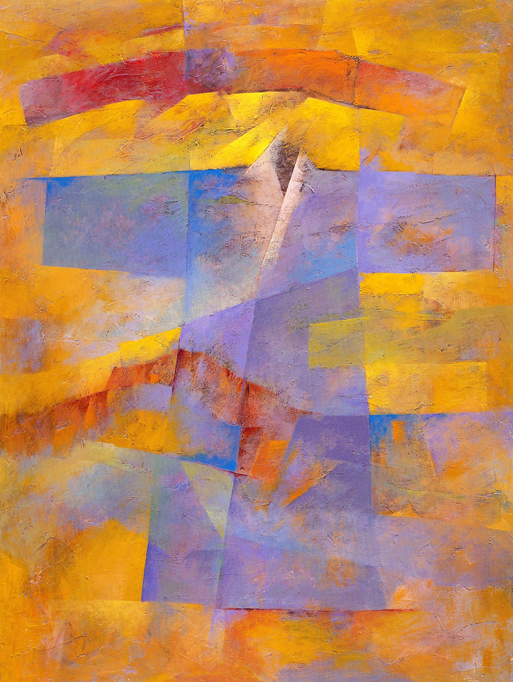 """Road Home #5,   2002, Acrylic on canvas, 40"""" x 30"""""""