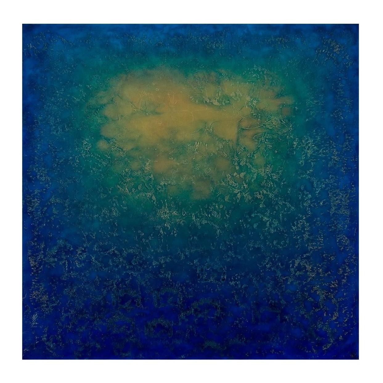 "Ron Clark    Interlude,   oil on canvas 36"" x 36"" 2008"