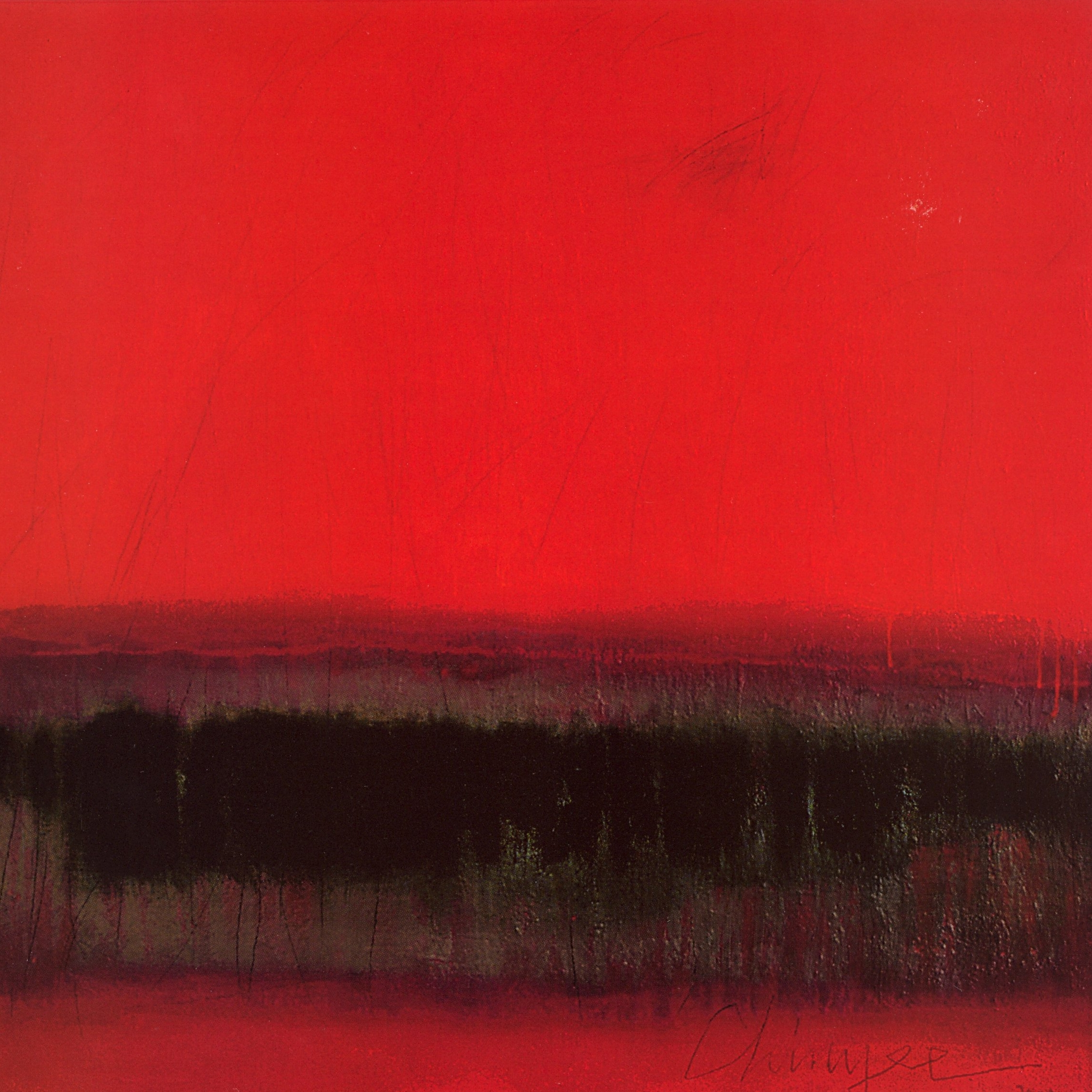 Chinyee   Pink Horizon and Beyond  , Oil on canvas, 48'' x 48'', 2004
