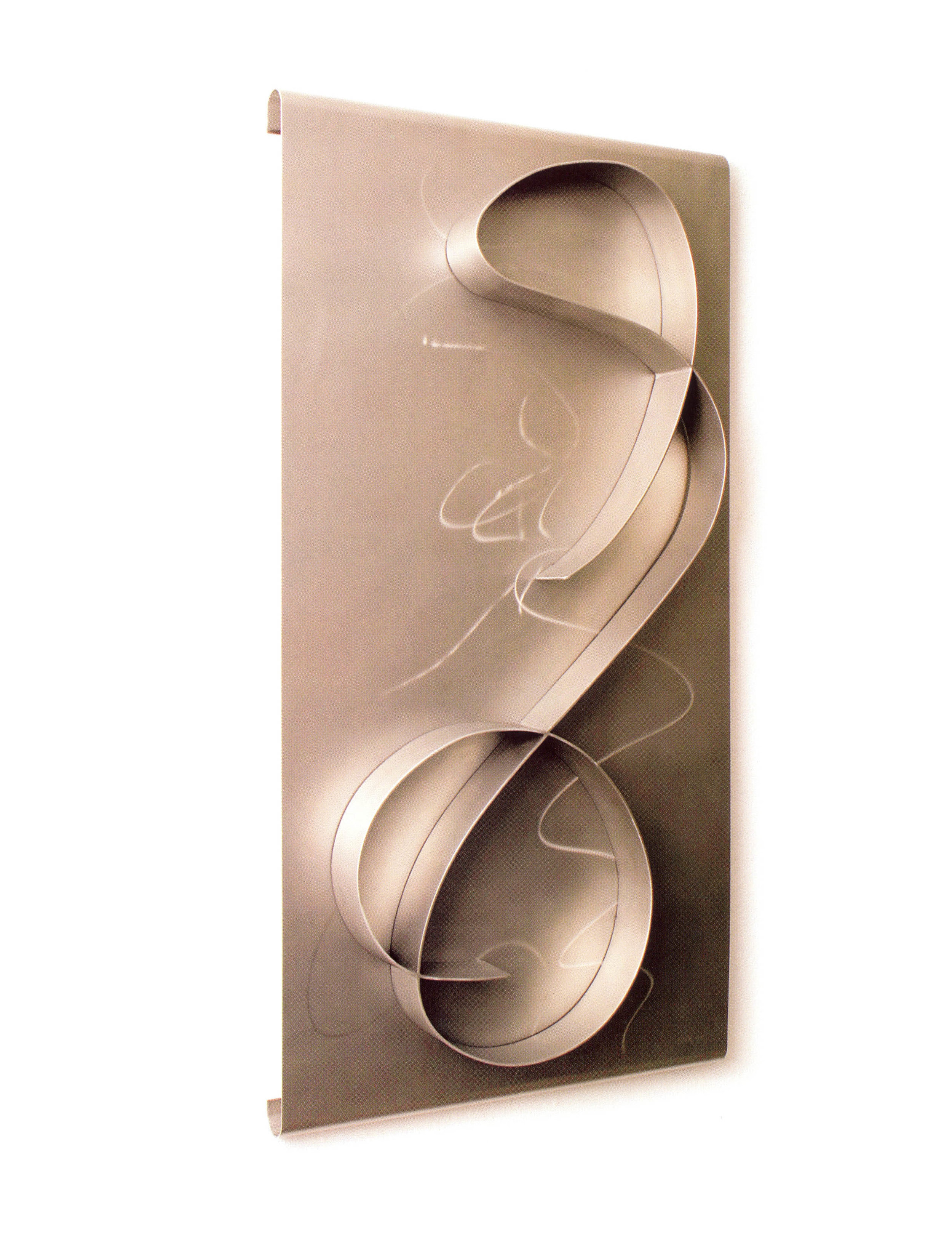 Rita Blitt   Juliet  , Stainless Steel, 41'' x 21'' x 1.5'', 2003