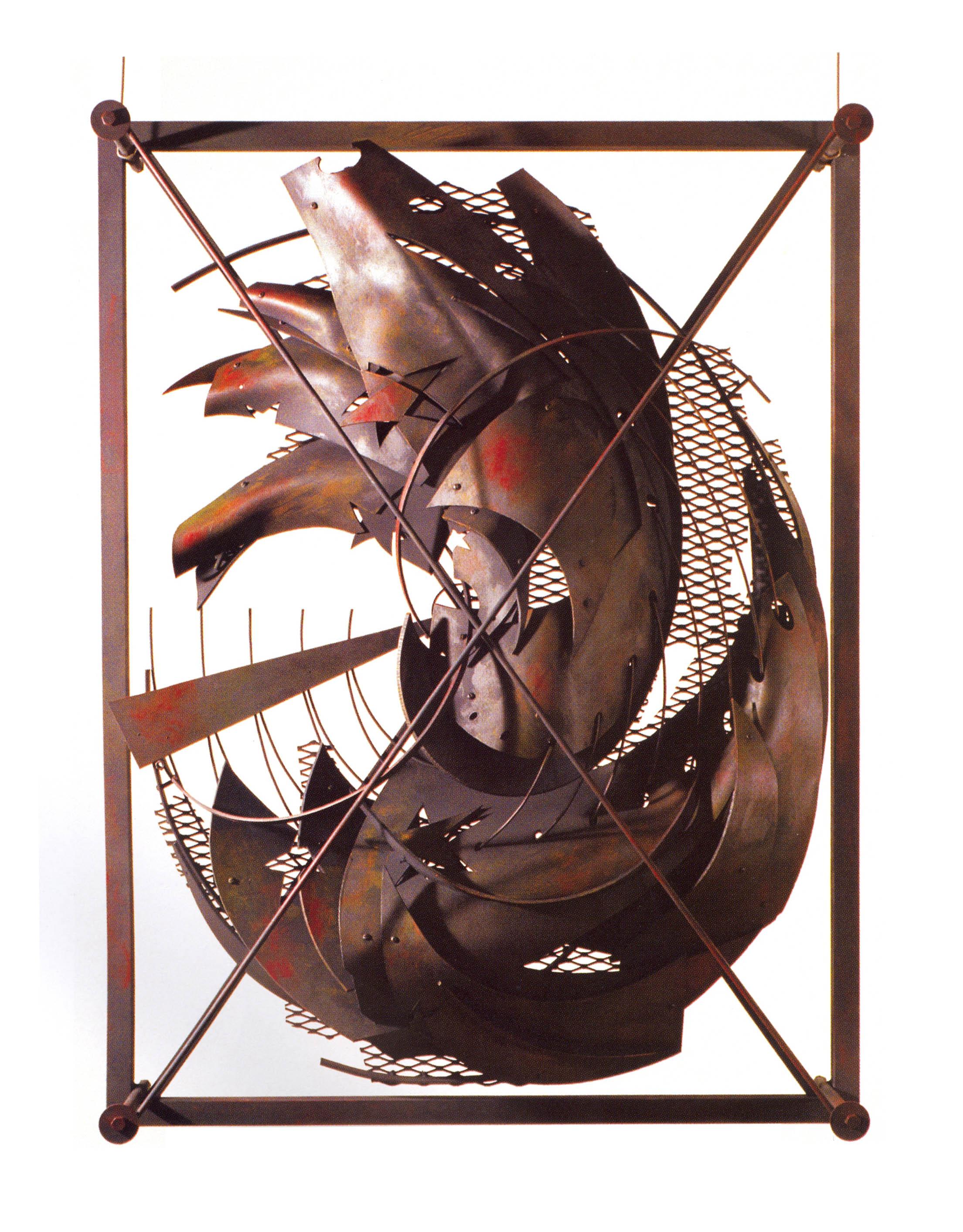 Alexy Klimov   Transformation Two  , Metal, Plastic, Acrylic, 40'' x 30'' x 5'', 2002