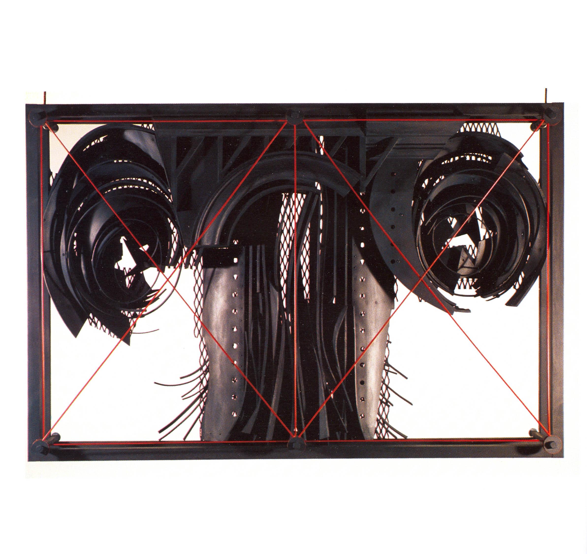 Alexy Klimov   Past Continuous Three  , Metal, Plastic, Automotive, Acrylic, 30'' x 45'' x 10'', 2003