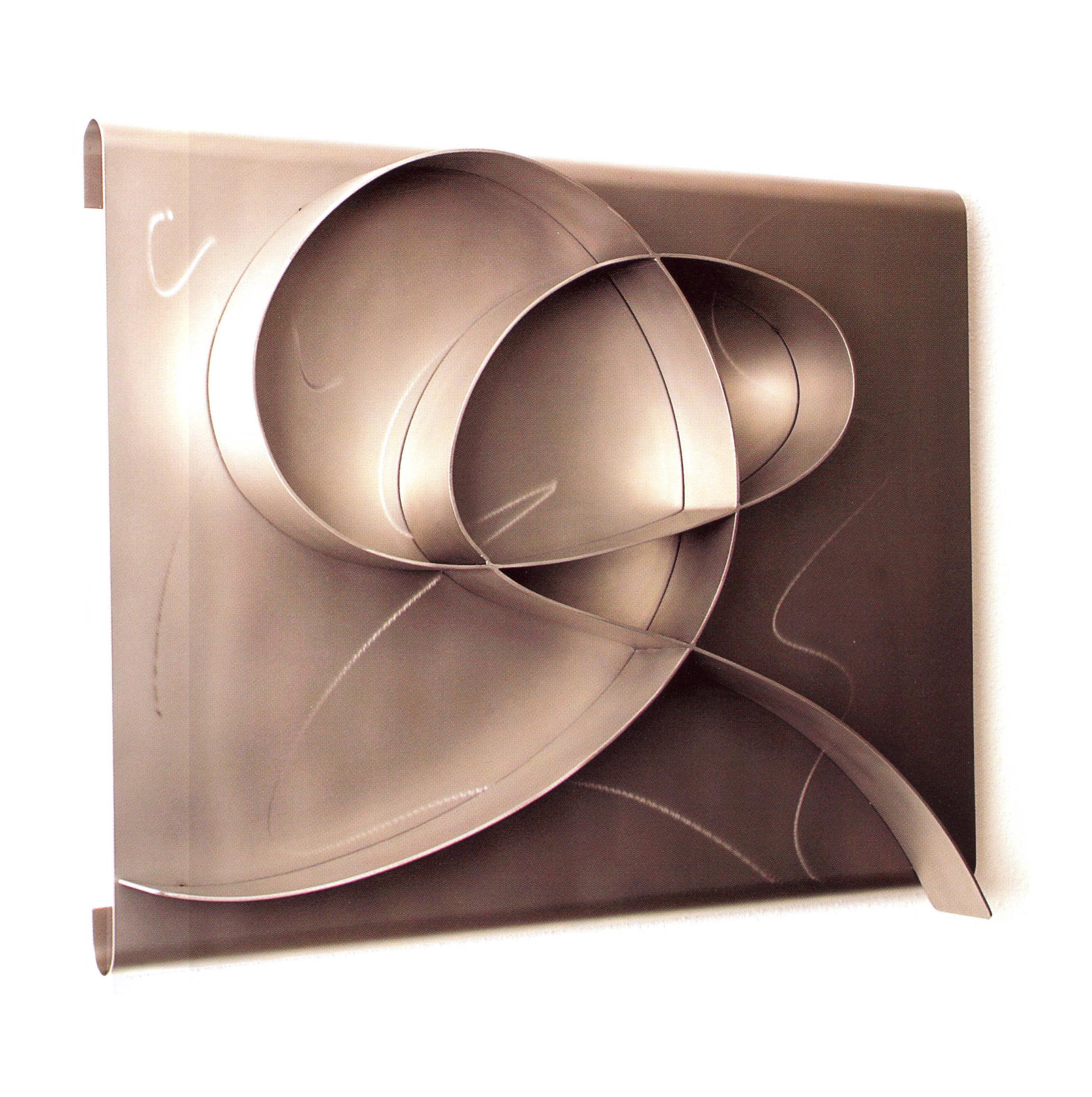 Rita Blitt   Haiku Harmony  , Stainless Steel, 20'' x 26'' x 1.5'', 2003
