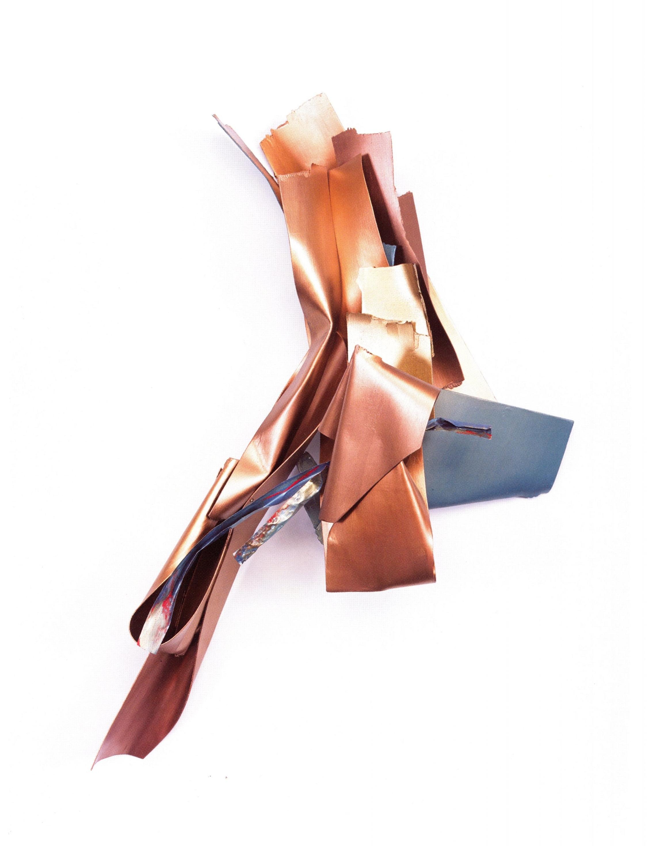 Susan Manspeizer   #203 Shades of Life  , Painted Wood / Metal, 45'' x 28'' x 13'', 2003