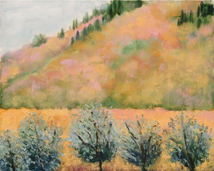 """Verrazzano    16"""" x 24"""", Oil on Canvas, 2004"""