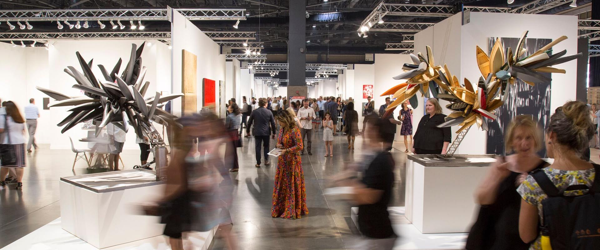 Installation view of Seattle Art Fair 2019