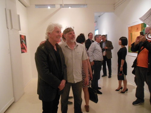 Graham Nash with D. Dominick Lombardi.