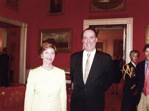 Laura Bush, Walter Wickiser, The White House.