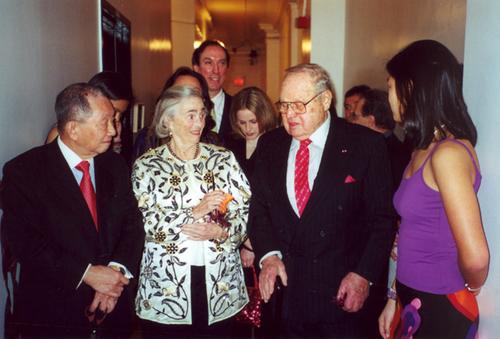 Middle: Molly Rockefeller, Sam Lefrak