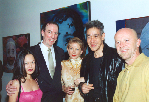 Middle: Walter Wickiser, Patti Heid, Andre Serrano.