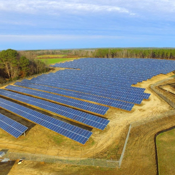 North Carolina Portfolio - 139 MW of fixed tilt solar installations on 19 sites in North CarolinaUtility Company: Duke EnergyDynaSolar was retained by the project owner to act as the Owner's Representative and Project Manager on the portfolio of solar projects through late-stage development, engineering, procurement and construction management. The portfolio consists of 19 fixed-tilt ground mount projects. The largest project is 27 MW DC transmission level project which includes the construction of a substation. DynaSolar is currently managing two EPCs; half of the projects were completed in H2 of 2017 with the rest of the portfolio expected to wrap up in mid 2019.