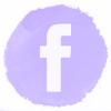 Lilac watercolor Facebook social media icons.png