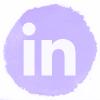 Lilac watercolor Linkedin social media icons.png