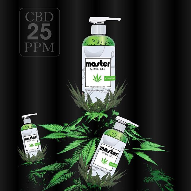 Thick, clear and infused with CBD oil. Our Shave Gel is perfect for sensitive skin. CBD reduces redness and inflammation, and helps regulate the skins oil production. Master Cannabis Shave Gel 💈 ... #master1935 #cannabis #shavegel #mastershavegel #cbdoil #art #health #wellness #cbd #shave #barber #barberlife #azbarber #madeinusa #barbershop