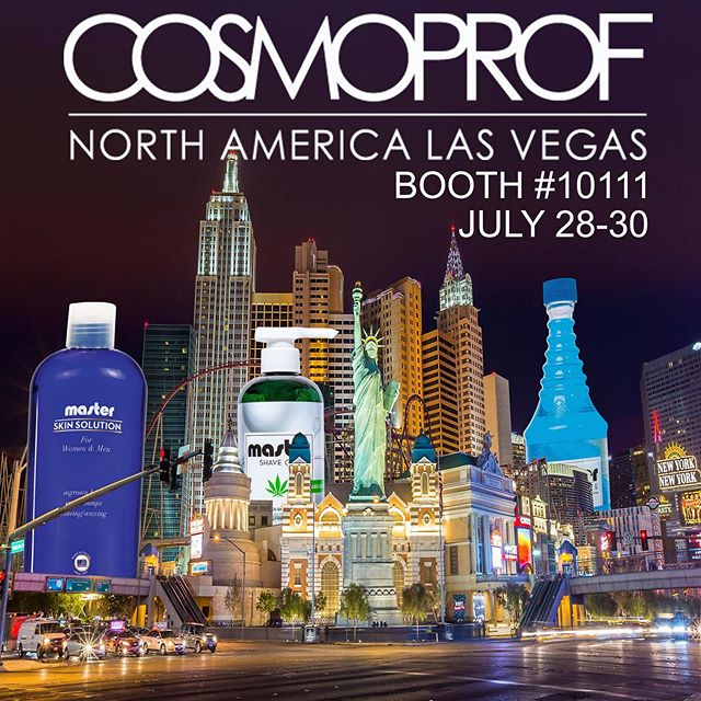 Come see us at Cosmoprof - Las Vegas Booth #10111 Fresh releases and show deals! ... #cosmoprof #master1935 #lasvegas #beautyshow #cosmoprofna #cosmoprofna2019 #ecocobeauty #elpatronusa #talyonilabs