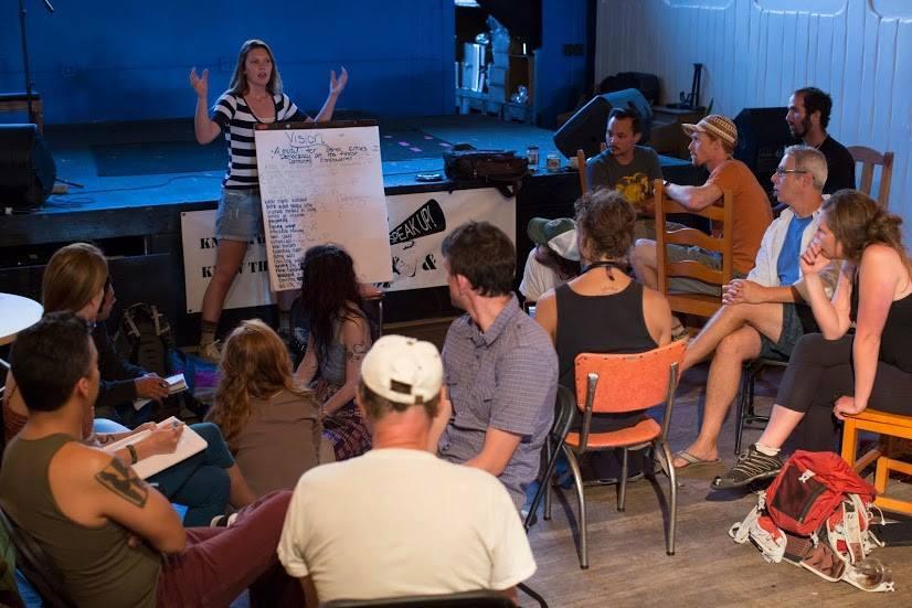 Flagstaff Speak Up meets at Firecreek in 2014.