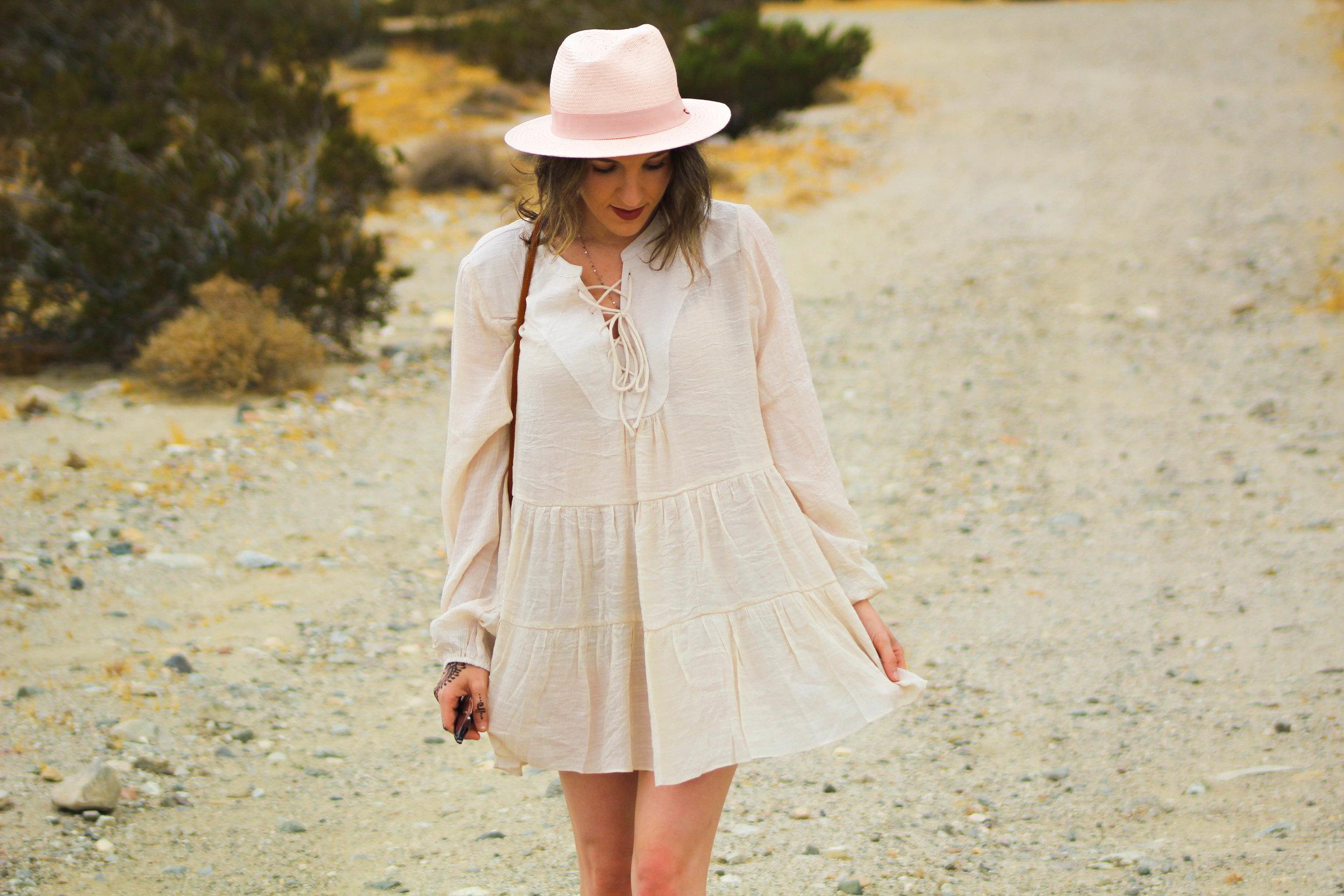 Shirt (worn as dress): Heavenly Couture, similar   here   // Hat:   similar here   // Purse: F21,   similar here   // Shoes:   Allegra K // Sunnies:   Marc Jacobs