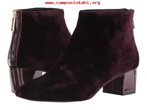 Official Womens boots Nine West Anna 2 WineWine Fabric Good Prices.jpg