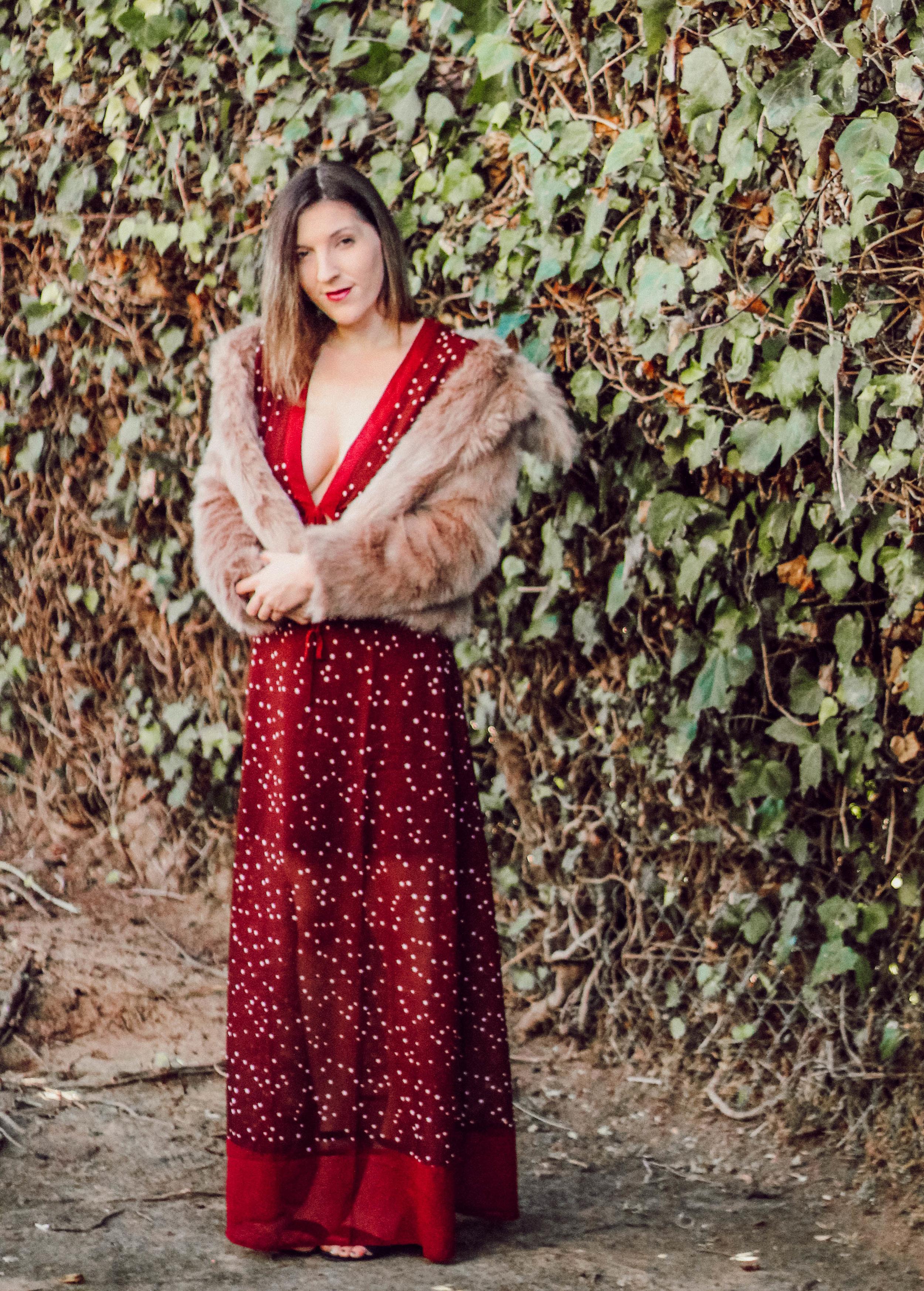 Dress:   Shein   // Coat: similar   here