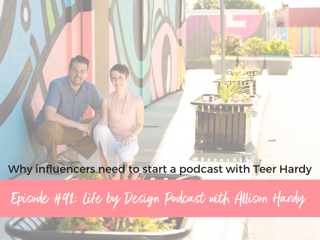 Blog - Why influencers need to start a podcast with Teer Hardy.png