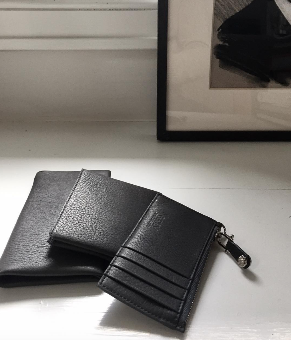 Grey New England Small Leather Goods