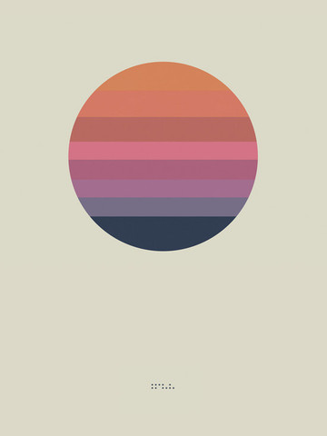 """Awake Album Poster 'Sun'"""