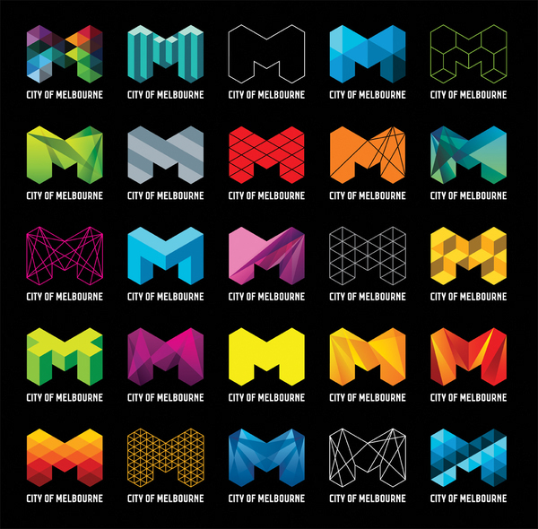 """Each """"M"""" is colorful and inspired"""
