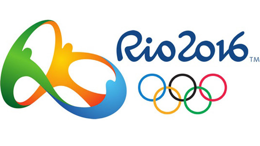 The logo for the Rio 2016 Olympics