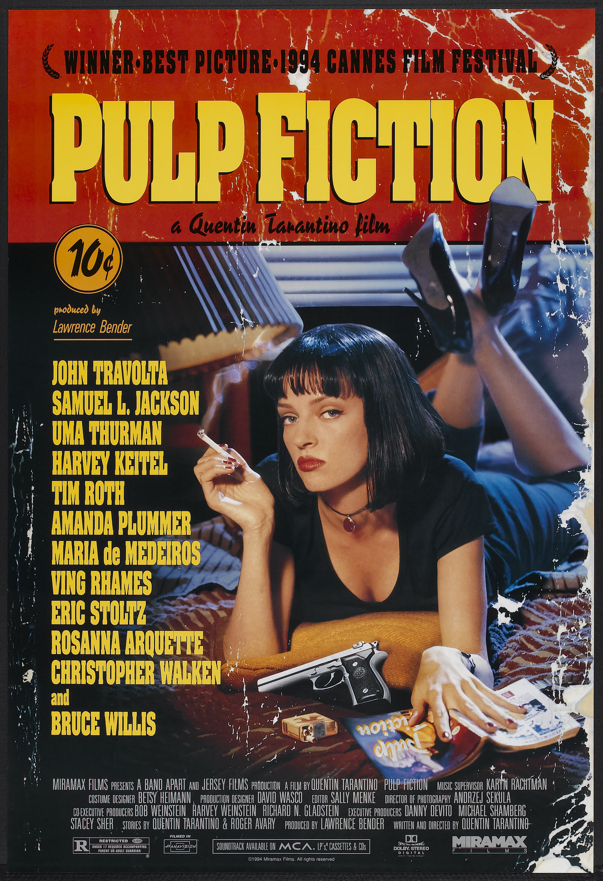 Pulp Fiction -- Quentin Tarantino