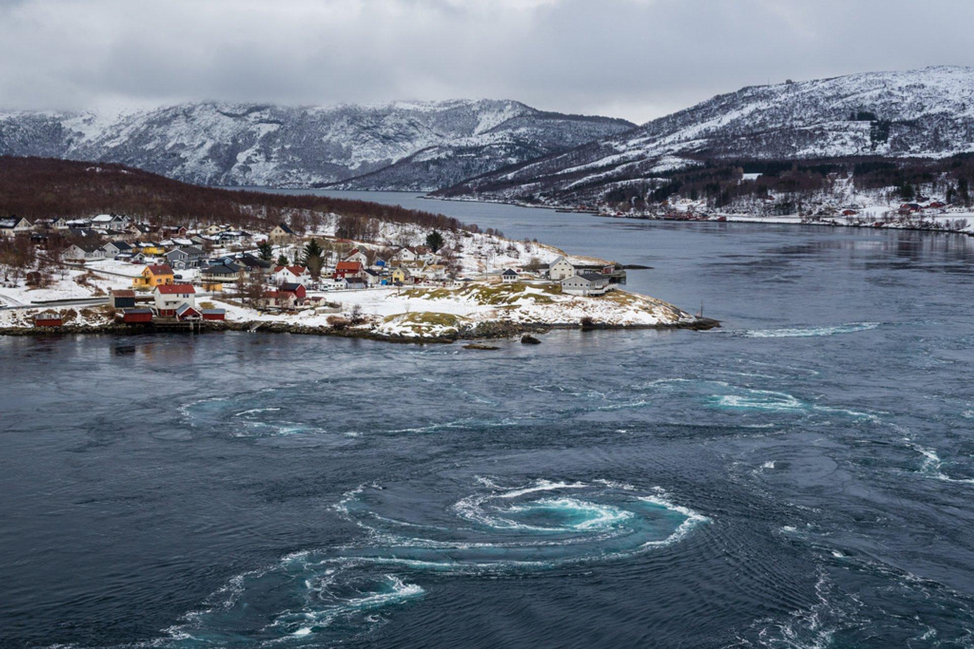 The Saltstraumen Maelstrom in Norway