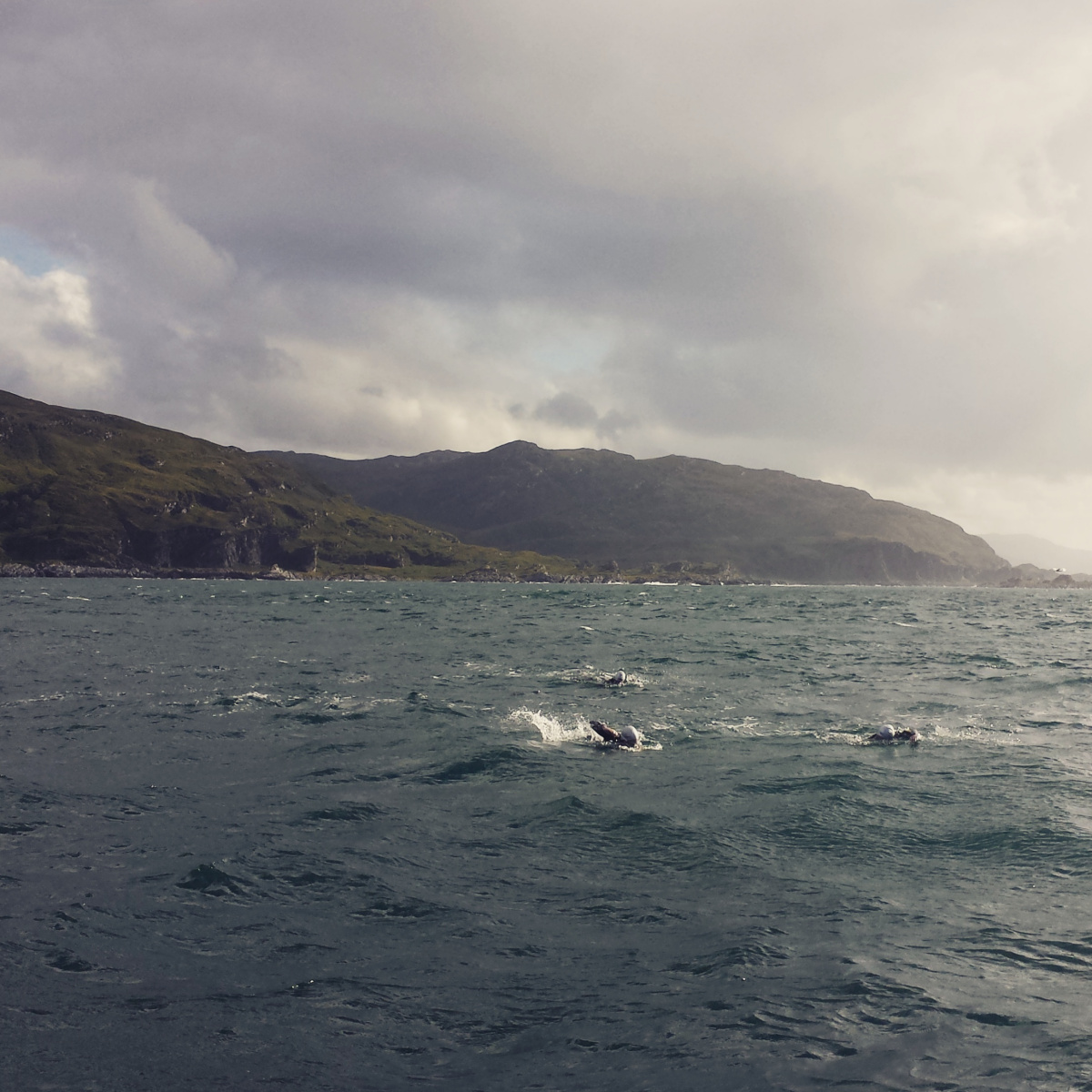 Crossing the Corryvreckan together in 2015.