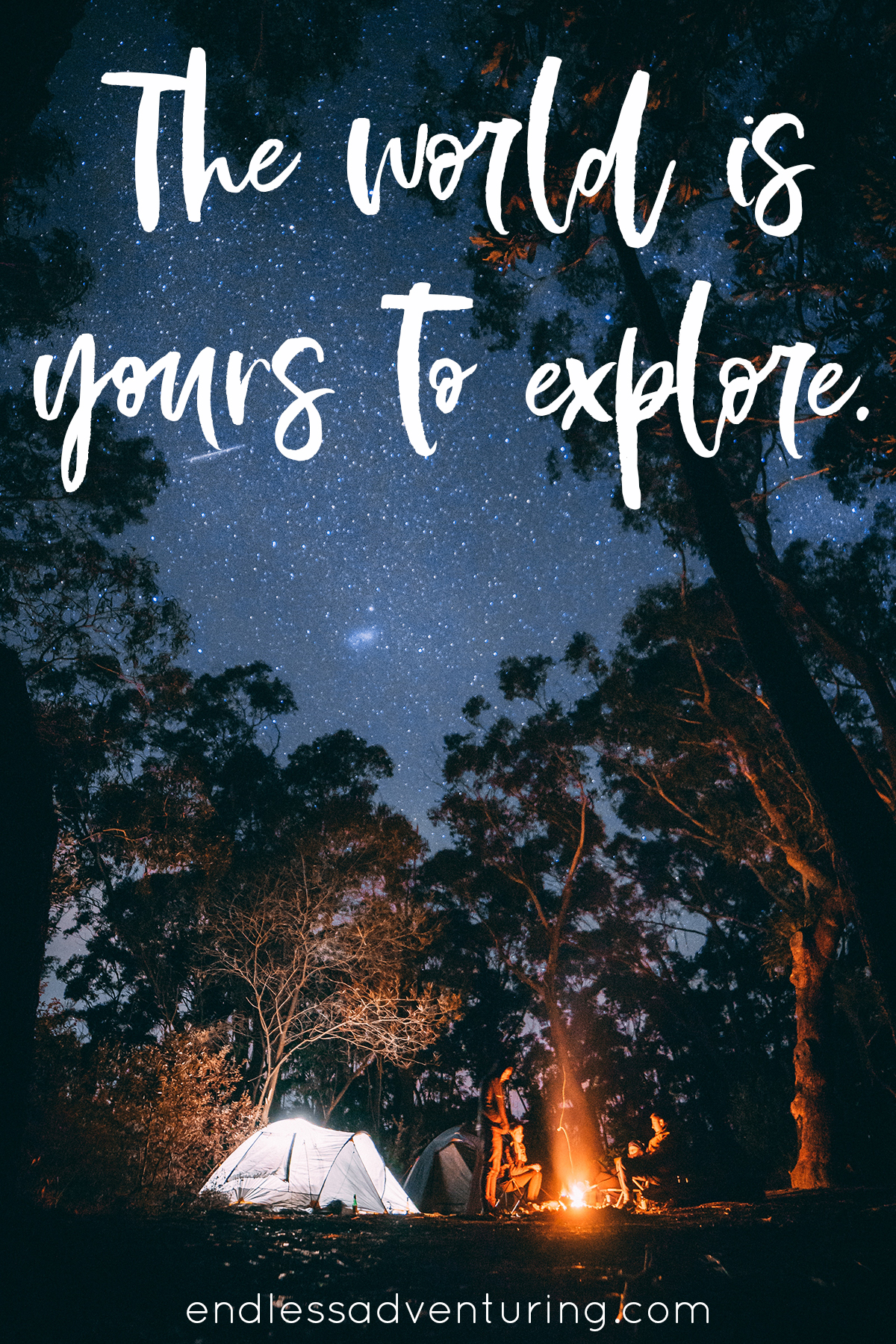 Adventure Quote - The World Is Yours
