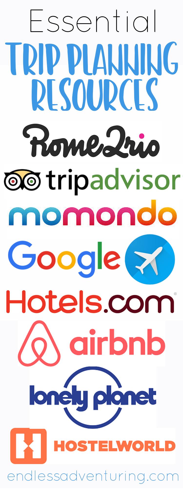 Essential Trip Planning Resources