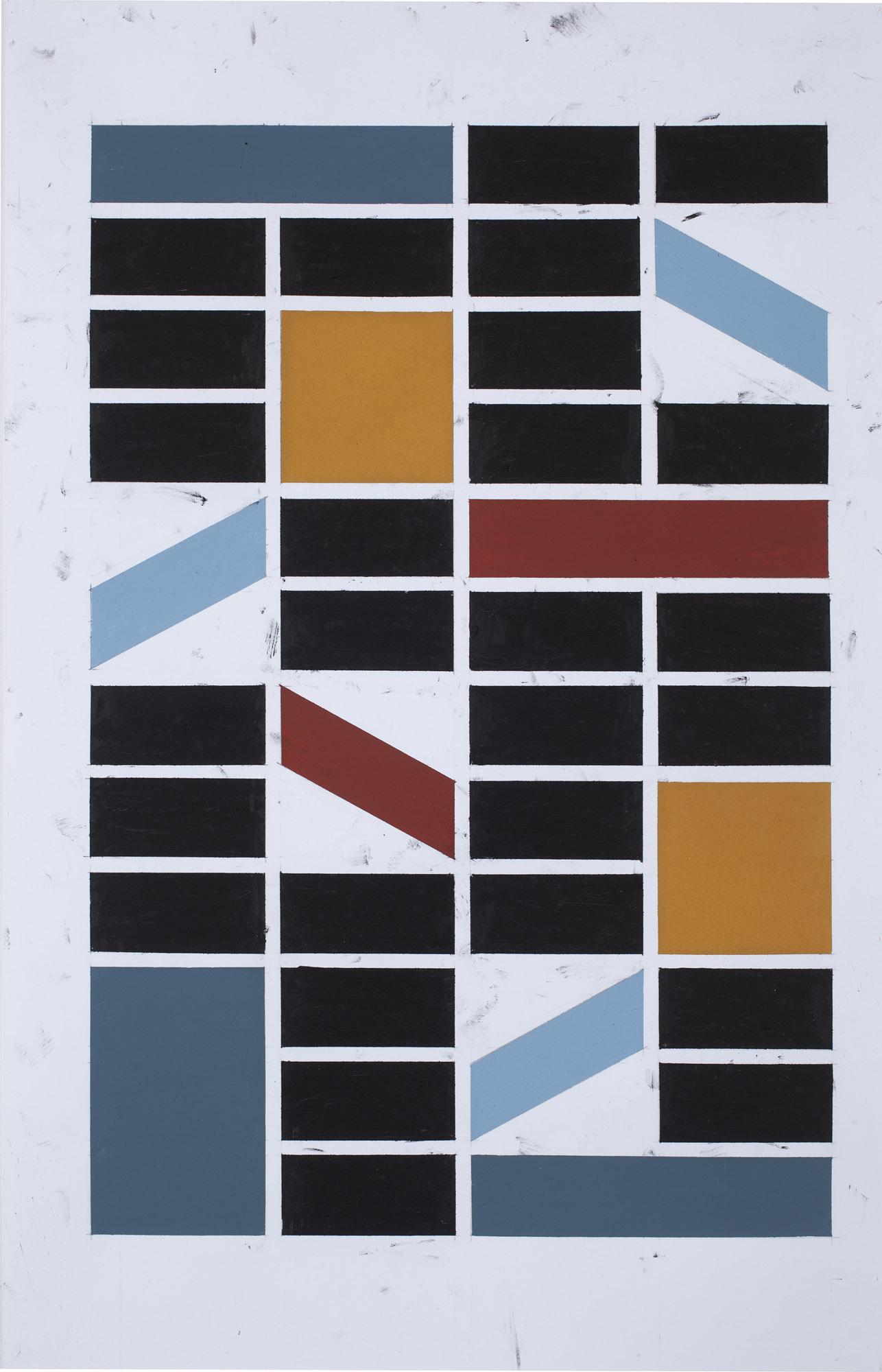 35,5x25,5 cm Blyant, oljepastell, gouache 2016