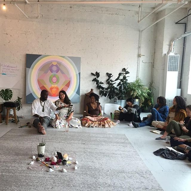 Discover the Roots of Our Practice with @cihealingarts, @ashnilivingthedream and me at @minkabrooklyn. Next Tuesday, August 6th at 7:00pm.  Being a spiritual/holistic/wellness facilitator in a capitalistic, patriarchal world is a complicated business 🤯😬 We've all been influenced and shaped by colonialism, even more than we've realized. Spiritual communities are not exempt from operating in ways that oppress, steal from, and harm BIPOC, unfortunately — despite the good intentions. It's tricky, and requires a willingness to look at ourselves and our practices no matter how difficult it may be.  This offering is a learning lab and skill share to decolonize our language and practices in the healing and wellness arts. This will be an expansive, no pressure, no shame container to free ourselves and our work. If you are reading this (and are in Brooklyn), this IS for you. Link in profile to join.  #ostarahealing #decolonize #decolonizeyourmind #culturalappropriation #loveandlightwashing #reeducate #healing