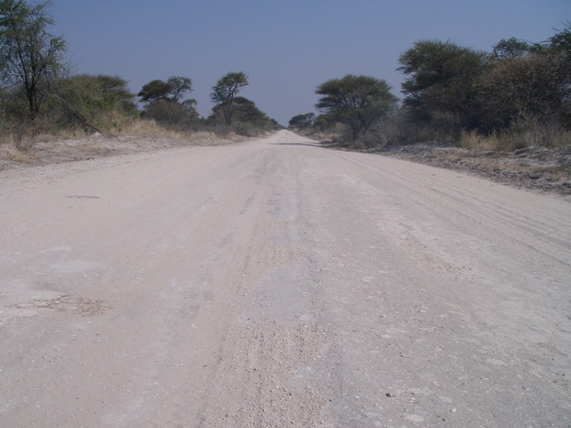 The open roads of Africa (Namibia)