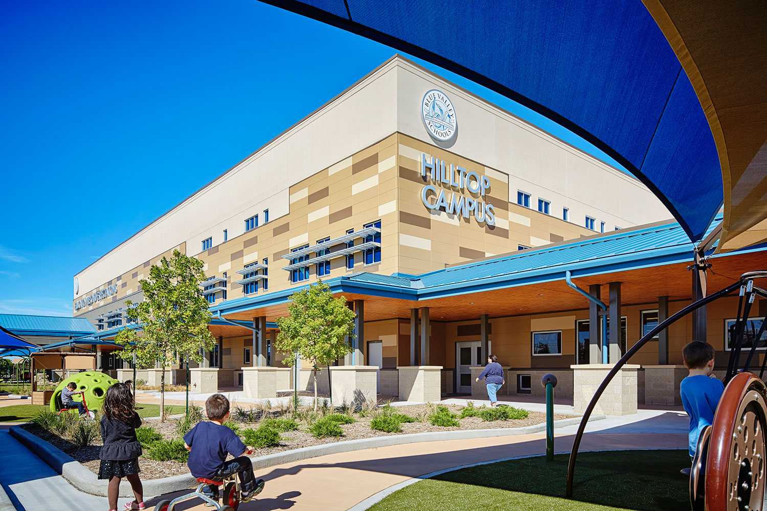 Hilltop Learning Center Blue Valley School District