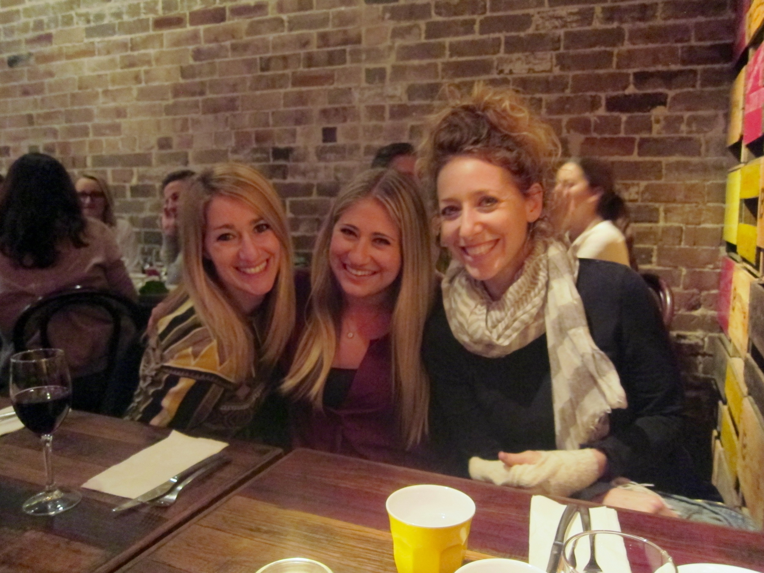The Goldman Girls: Caroline, Ali, Amy