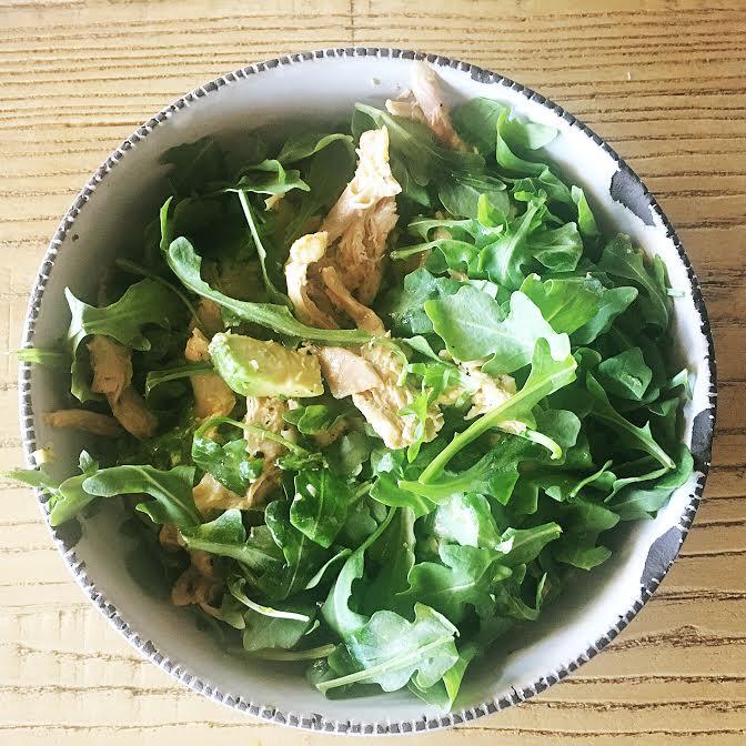 fiveminutes detox salad