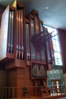 Chapel of Christ Triumphant Steiner-Reck Organ