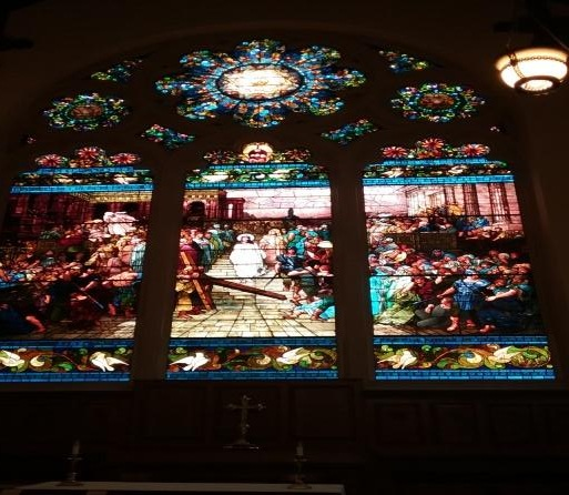 St. Paul's Episcopal Church Tiffany Window