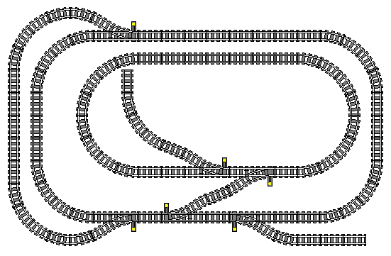 Track Planning For Lego Trains Part 2 Track Geometry And Tips Tricks Monty S Trains