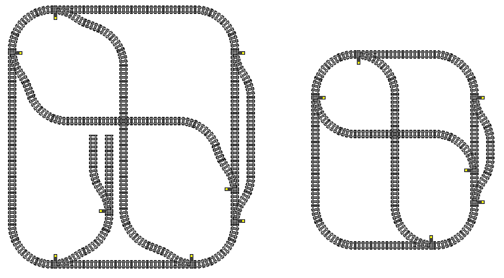 Track Planning for Toy Trains #50