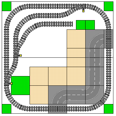 Two Table Layouts - Square 2
