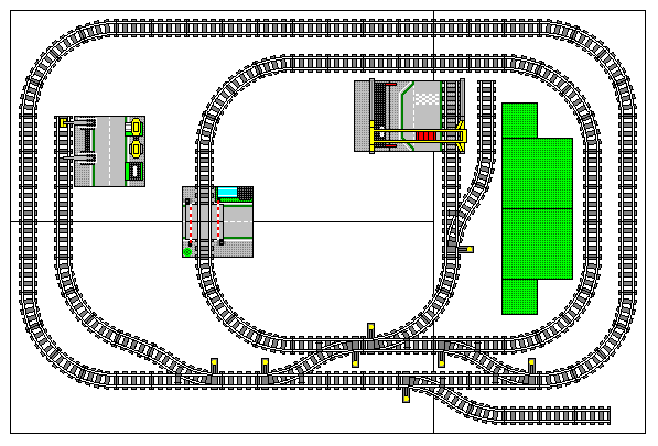 Two Loops in a Smaller Space