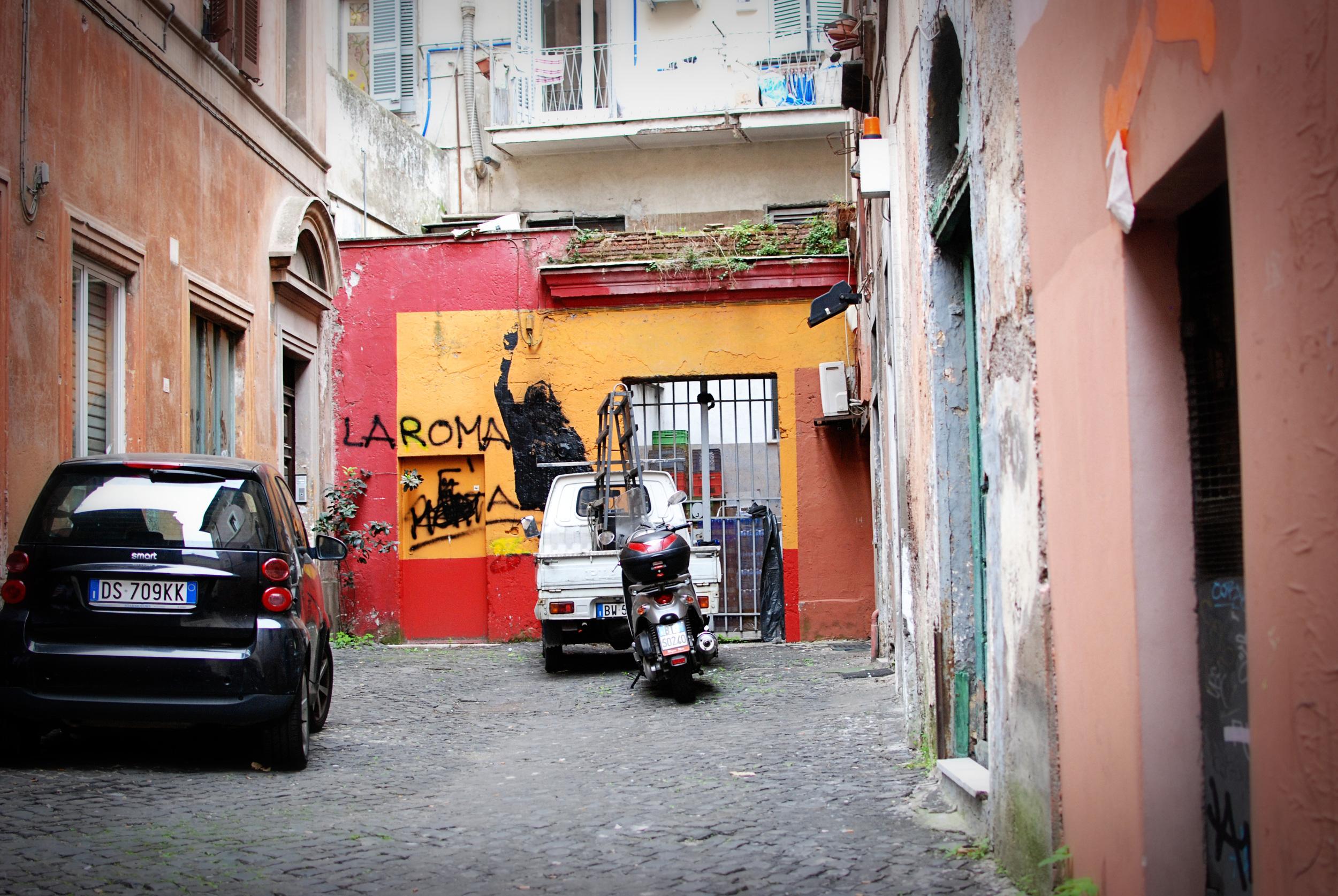 """""""Transportation"""" - Rome, Italy"""