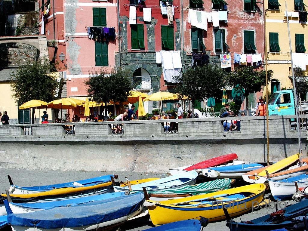 """""""Boat"""" - Vernazza, Italy"""