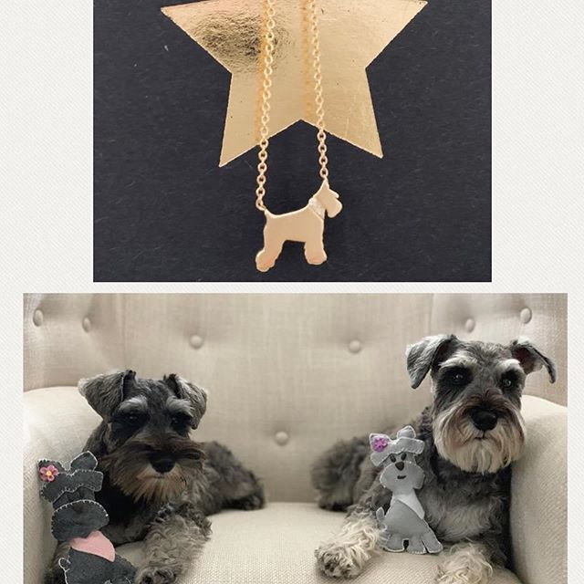 #Repost @mini_maia_ with @get_repost ・・・ Shout out to our friends ❤️@trooper_the_snooper & @carriecramerjewelry for making our mommy so happy 🥰😁! Trooper's mommy makes all her beautiful schnauzie products by hand 🖐 (p.s. my nieces loved 💕 their schnauzies!!!) & Ms. Carrie Cramer has a beautiful jewlery line! Thanks @imroxytheschnauzer for posting  ur necklace!  #schnauzer #minischnauzer #schnauzerpuppy #love #schnauzerlife #dogsofinstagram #puppiesofinstagram #schnauzersofinstagram #schnauzerlove #schnauzers #dogsofatlanta #pupsofatlanta #theweeknd #atlanta