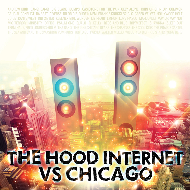 Cover art by The Hood Internet and  Chuck Anderson