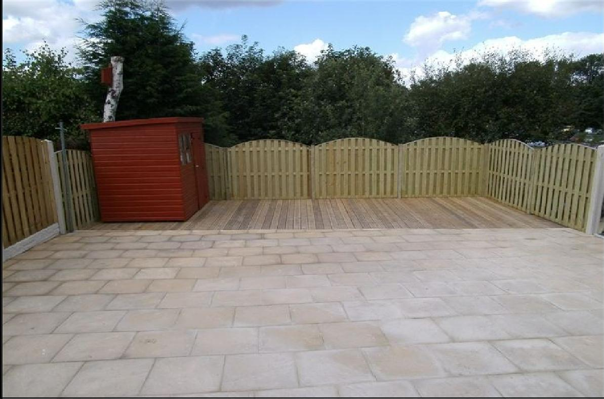 completed Landscape garden project